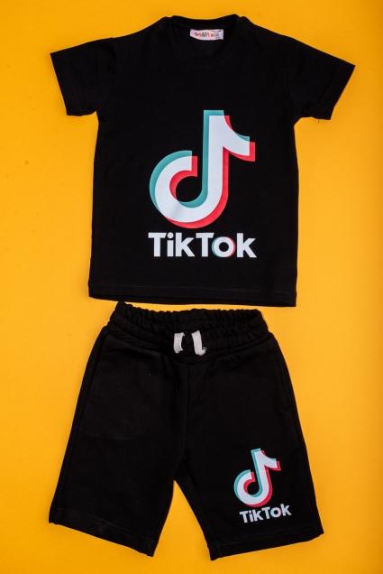 Комплект момче къс ръкав TIK-TOK