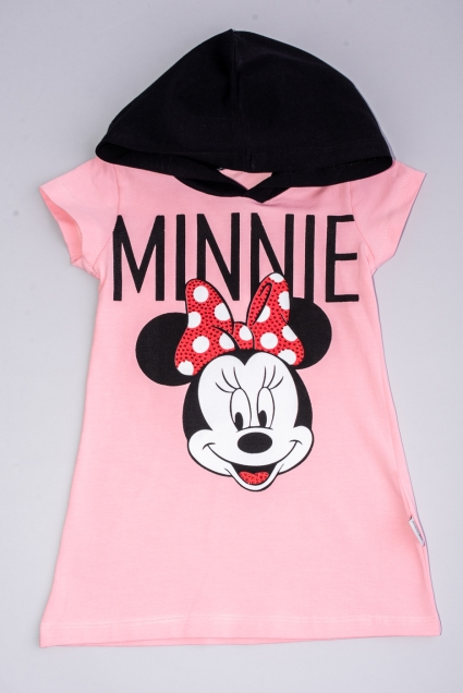 Minnie mouse short sleeve dress