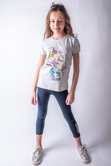 Short sleeve girl set