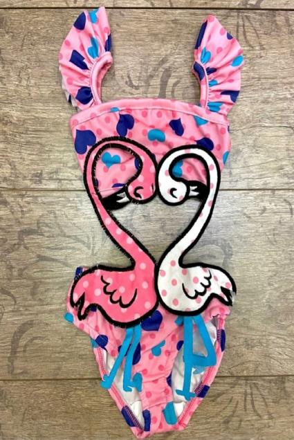 Бански момиче Фламинго