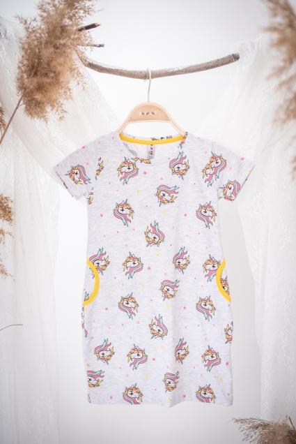 Minnie mouse short sleeve dress