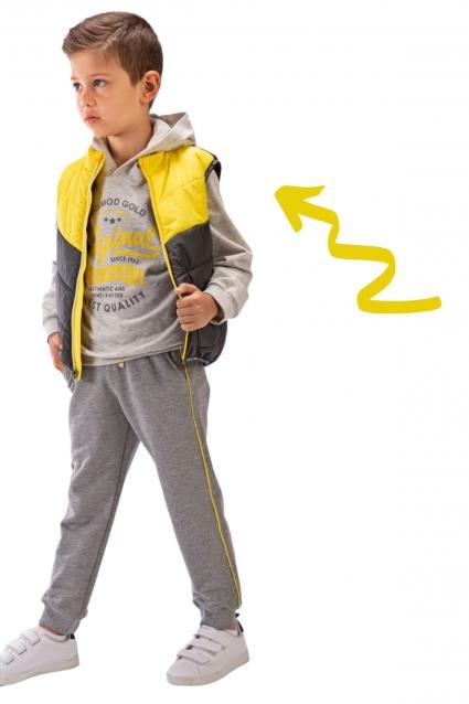 Комплект момче дълъг ръкав 3 части