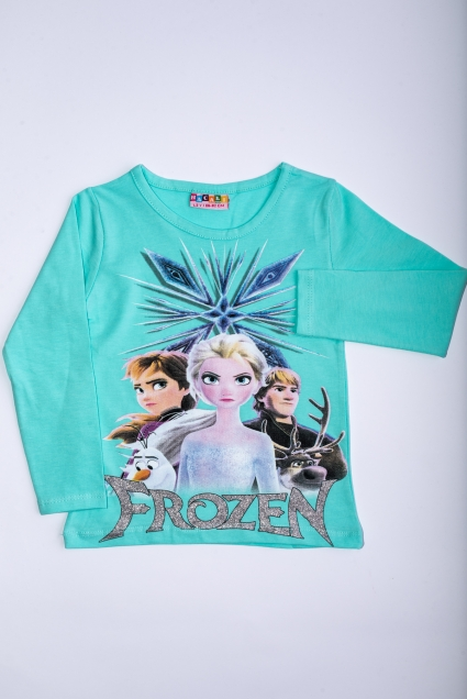 Elsa long sleeve girl blouse